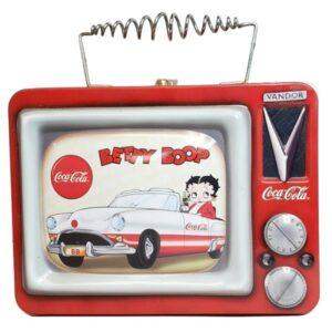Betty Boop Coca-Cola Tin Tote