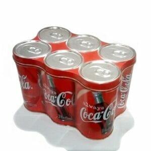 Coca-Cola 6-Pack Tin