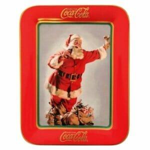 Coca-Cola Santa Plate