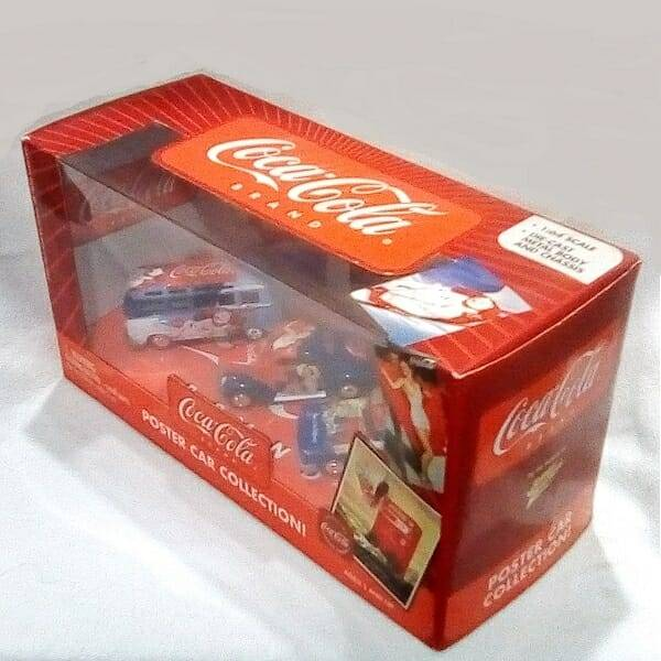 Coke Poster Car Collection side view 2