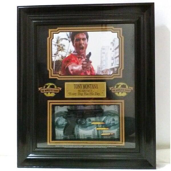 Scarface Framed Memorabilia