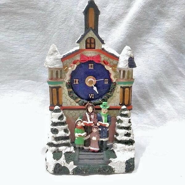 Town Hall Carolers Clock