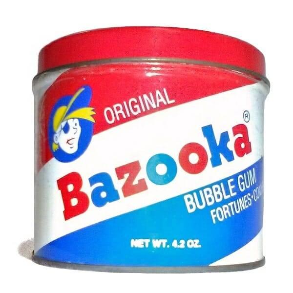 90s Bazooka Bubble Gum Tin