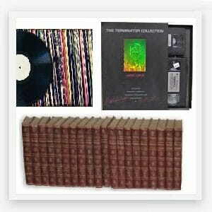 Books Records Tapes
