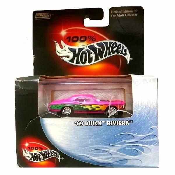 Pink 69 Riviera Hot Wheels