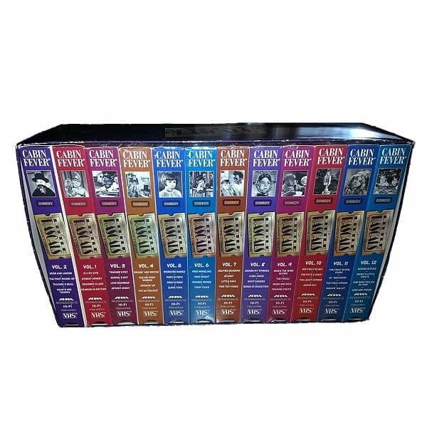 Little Rascals 12 VHS Set