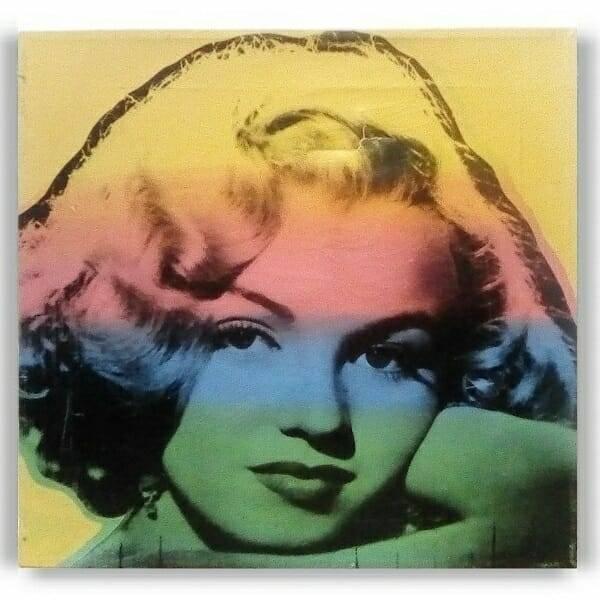 Marilyn Canvas Pop Art