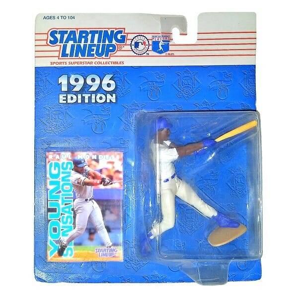 Mondesi MLB Figure and Card