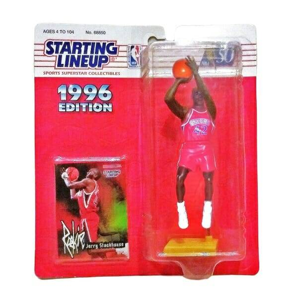 Stackhouse NBA Figure and Card
